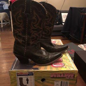 Durango RD5512 Women's Brown Boot Size 8 1/2